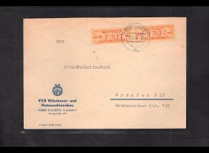 DDR. ZKD-Brief mit MeF. Mi.-Nr. 16 C
