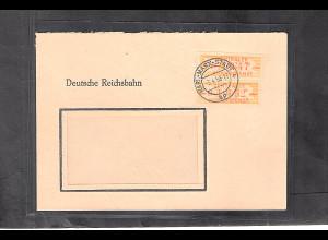 DDR. ZKD-Brief mit MeF. Mi.-Nr. 16 H