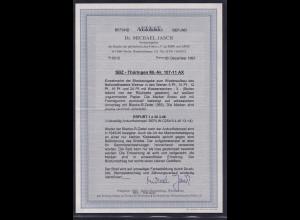 SBZ, Thüringen., Mi.-Nr. 107-11 AX, auf R-Brief mit Ak-St., FA. Dr. JaschBPP.