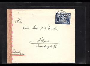 DR.,Auslandbrief mit EF. Mi.-Nr. 713, sign. SchlegelBPP,