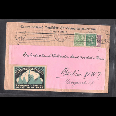 DR., Infla Brief , 2 x als Drucksache verwendet.