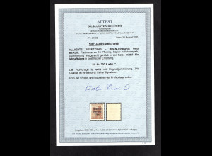 SBZ Mi.-Nr. 203 b wbz postfrisch, FA. DR. Ruscher