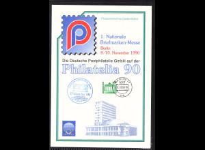 DDR - Gedenkblatt, Philatelia 90