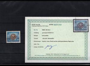 DDR. Mi.-Nr. 353 XI G, gestempelt, Befund MayerBPP.