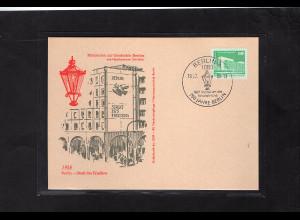 DDR - Gedenktkarte, Miniatur zur Geschichte Berlin, Stadt des Friedens