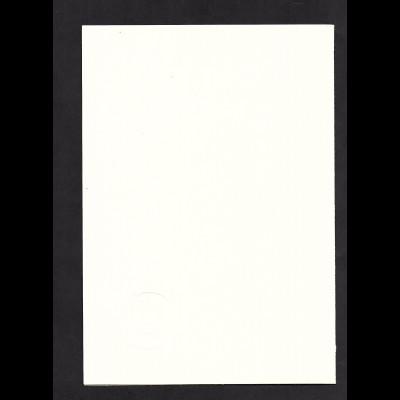 DDR - Gedenkblatt, 51. Kongress der Internationale de Philatelie, B3-1982
