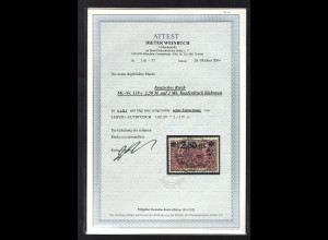DR, Mi.-Nr. 118c, gestempelt, Luxus, FA. WeinbuchBPP,