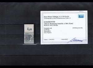 All. Besetzung, Mi, Nr. 40 I P OR dgz. Postfrisch, KB. SchlegelBPP.