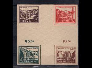SBZ.,Thüringen Mi-Nr. HZ 1 cy postfrisch, FA. Dr. JaschBPP.