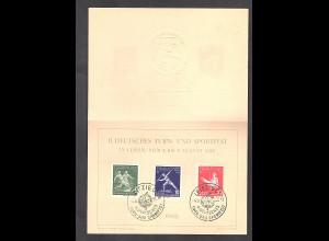 DDR -Gedenktblatt, II Deutsches Turn- und Sportfest, C3-1956 b