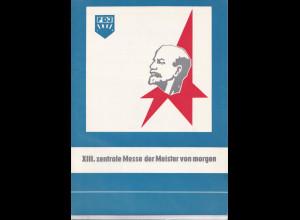 DDR -Gedenktblatt, XII.Zentrale Messe der Meister von morgen