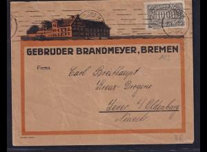 DR. Reklame-Brief, Gebrüder Brandmayer, Bremen