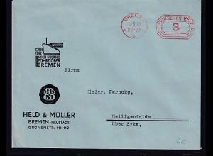 DR. Reklame-Brief, Held & Müller, Bremen