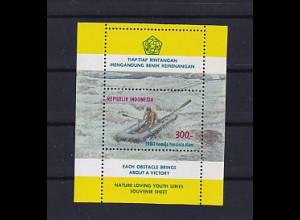 Sport, Indonesien, Mi.-Nr. Block 33 postfrisch.
