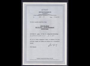 DR, Mi.-Nr. D 65, gestempelt, FA. WeinbuchBPP.
