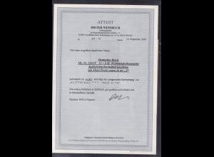 DR, Mi.-Nr. 234 IV, gestempelt, FA. WeinbuchBPP.