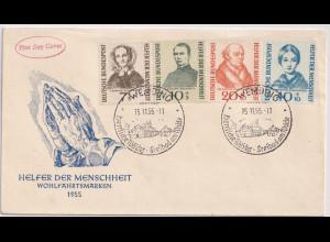 Bund , FDC. Mi.-Nr. 222-225