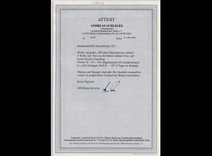 Bund , Vor-FDC, Mi.-Nr. 139 - 140 Eckrand, FA. A.SchlegelBPP.