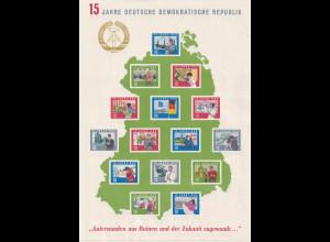 DDR. Block 19 postfrisch