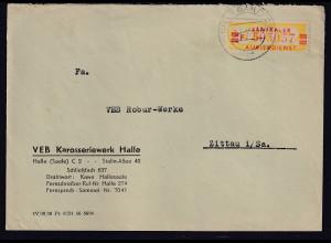 DDR.ZKD-Brief, EF. Mi.-Nr. Dienst-19 I