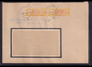 DDR.ZKD-Brief, MeF. Mi.-Nr. Dienst-16 M