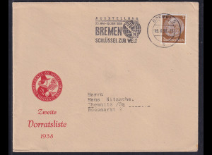 DR. Reklame-Brief, Ernst Wenke & Co, Bremen