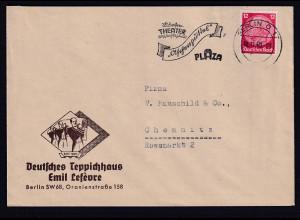 DR. Reklame-Brief, Deutsche Teppichhaus Emil Lefeure, Berlin