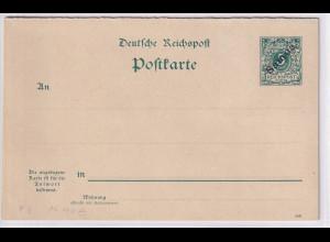 Deutsche Kolonie, Samoa,, Ganzsache Mi.-Nr. P 3, ungebraucht