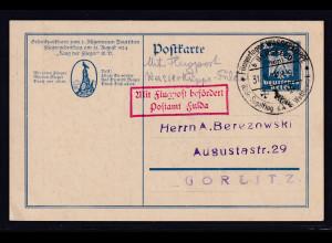 DR, Privat-Ganzsache PP 85 C1, gestempelt.