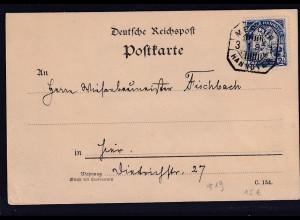 Privatpost, Hannover 1897, EF. Mi. -Nr. 19