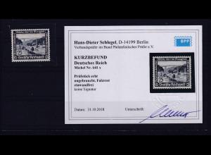 DR, Mi.-Nr. 641 x, ungebraucht,KB, SchlegelBPP