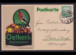 DR. Reklame-Karte, Oetkers Marmeladen, Berlin