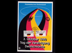 Bund -Gedenktblatt, Tag der Vereinigung Deutschland 3.10.1990