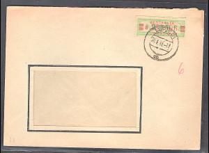 DDR.ZKD-Brief, EF. Mi.-Nr. 31 BI