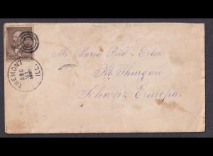 USA-Brief, von Tremont - Schweiz 1988