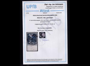 Alliierte Besetzung 1948 Mi.-Nr. 962 c gestempelt, mit UR., FA, Hohmann