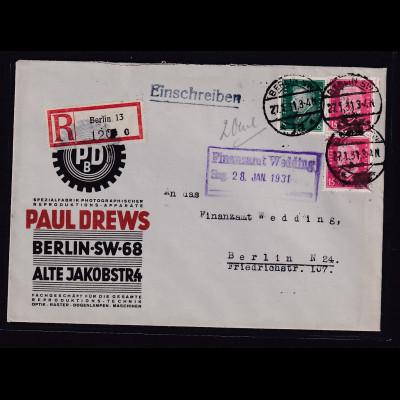 Reklame-Brief, Spez.-Fabrik und Photograph.Repro.-App., Paul Drews, Berlin