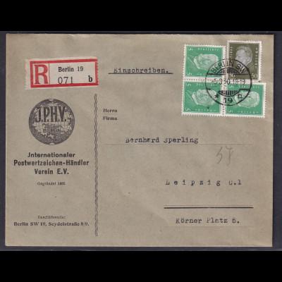 Reklame-Brief, I.P.H.V Berlin