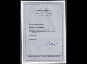 "Berlin 1949 ,""Berliner Bauten I "", Mi.-Nr. 42-60, postfrisch, FA, Schlegel"