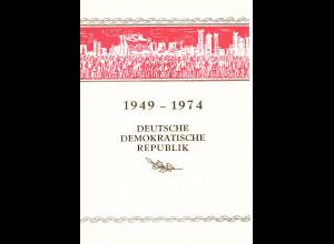 DDR - Gedenkblatt, 30 Jahre DDR
