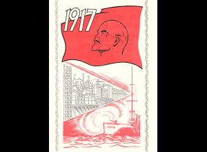 DDR - Gedenkblatt, 60 Jahre Oct.-Revolution