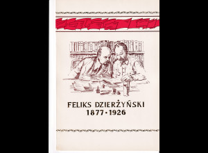 DDR - Gedenkblatt, Feliks Dzierzynski 1877-1926