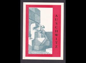 DDR - Gedenkblatt, Ausschwitz, B22-1982