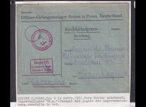 DR, Zensurbrief nach Kopenhagen, KGF-Sendung