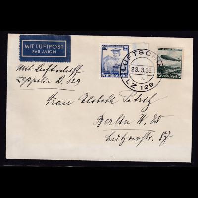 Zeppelin-Brief, LZ 129