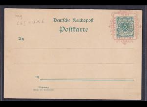 DR., Privatganzsache PP9-C6/03, Ungebraucht.