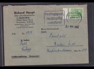 Berlin, EF. Mi.-Nr. 47 mit DZ.