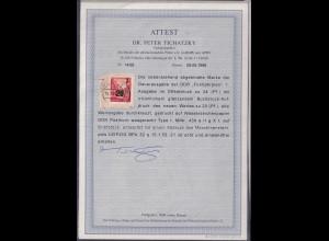 DDR. Mi.-Nr. 439 a II g X I, gestempelt, FA. DR.Tichatzky