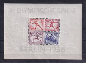 DR, XI. Olympische Spiele Berlin 1936, Mi.-Nr. Block 5 + 6, postfrisch