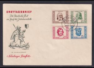 DDR., FDC. Mi.-Nr. 311-314